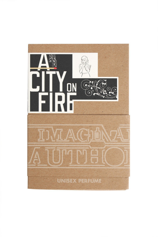 Imaginary Authors A City On Fire