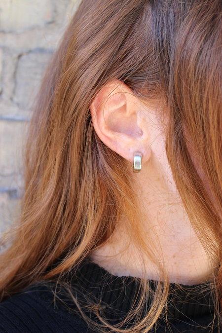 Laura Lombardi Corte Hoop Earrings