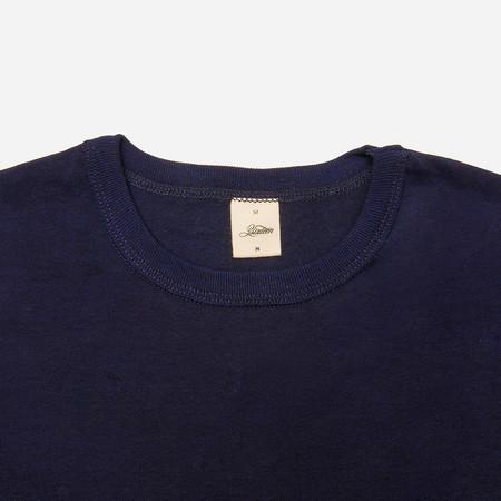 3Sixteen Heavyweight Plain T-Shirt - Indigo