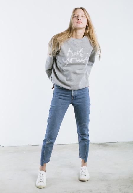 "Unisex ""not yours"" Sweatshirt"