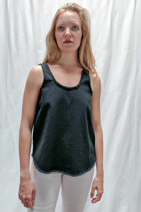 Hackwith Design House Raw Finish Tank / Black