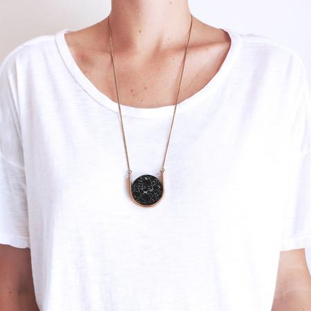Metalepsis Neutron Necklace in Black + White
