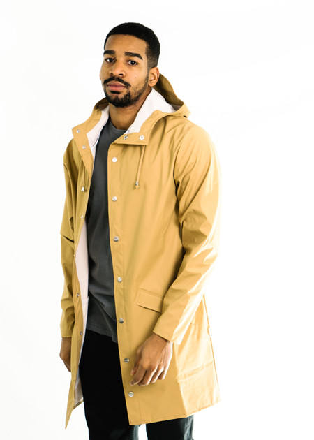 Rains Long Jacket (Khaki)