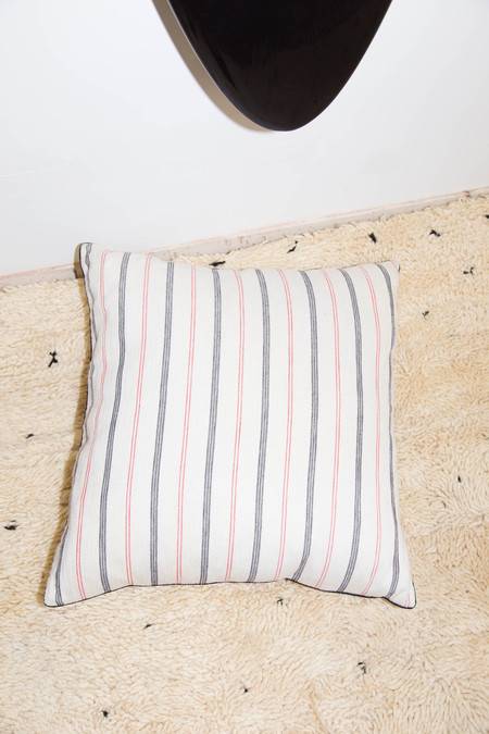 Heidi Merrick Cotton Striped Floor Pillow