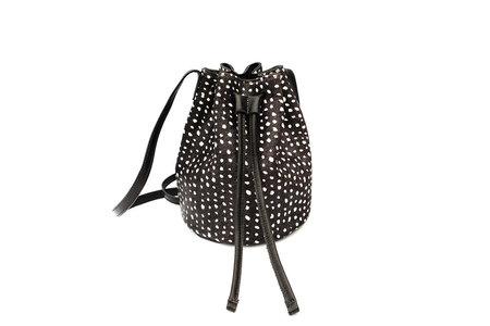 Primecut DOTS COWHIDE BUCKET BAG