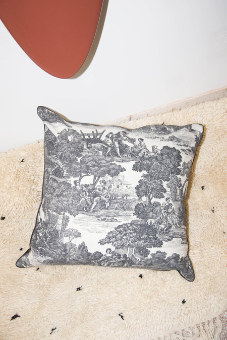 Heidi Merrick Toile Pillow