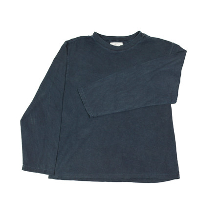 Olderbrother Hand Me Down Long Sleeve Tee - Indigo Plus