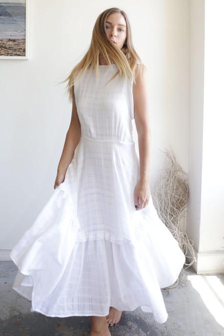 Heidi Merrick San Simeon Dress - White