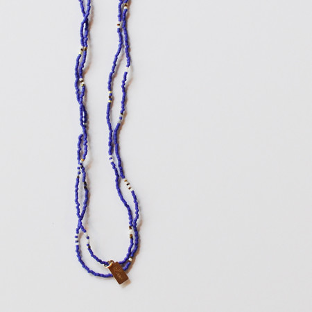 GRA LOVE NECKLACE - INDIGO