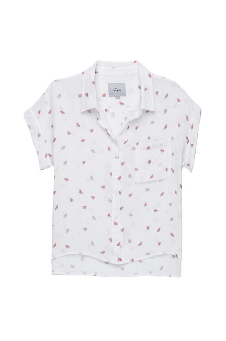 Rails Whitney Short Sleeve Button Down Top