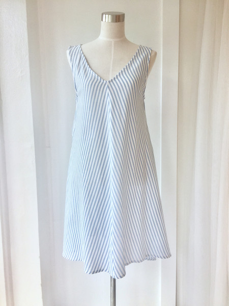 Salua Striped Rayita Dress