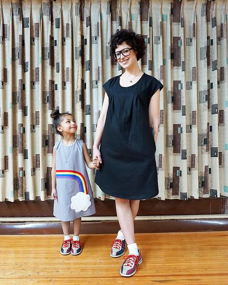 Noko Pacific Dress - Black