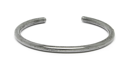 FORTUNE GOODS JOHN WAYNE MONTAGNARD BRACELET IN STEEL (THICK)