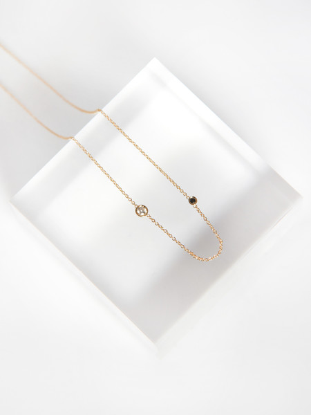 Still House Iba Necklace White Diamond