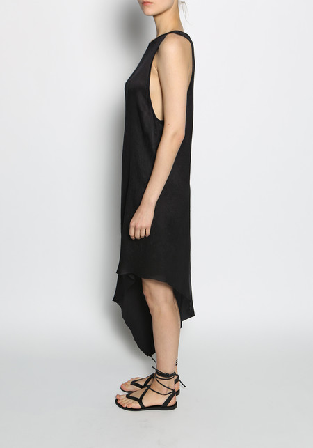 KES Slanted Crinkled Dress