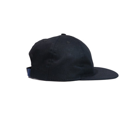 FairEnds Black Organic Cotton Twill Ball Cap