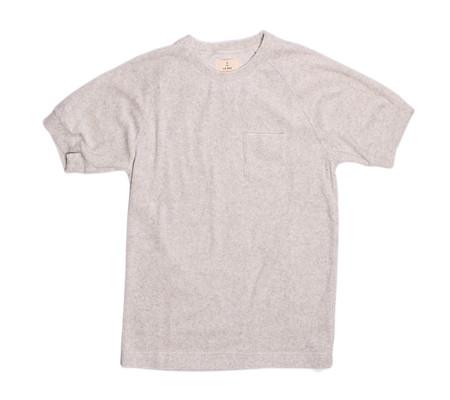 La Paz Ferrao T-Shirt | Grey Terry Towel