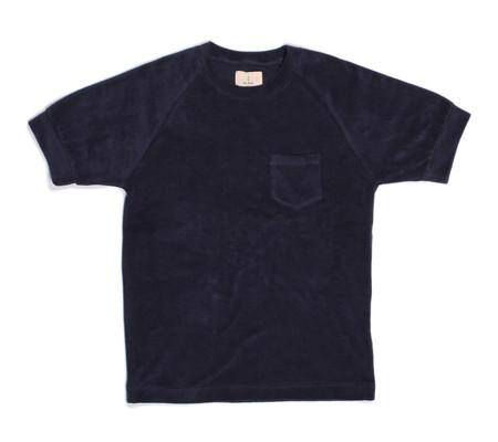 La Paz Ferrao T-Shirt | Navy Terry Towel