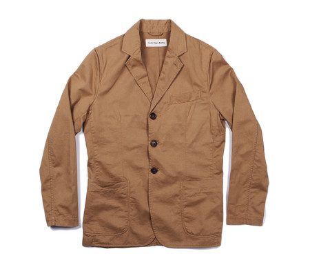 Universal Works London Jacket | Sand Twill