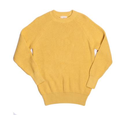 La Paz Rato Cotton Summer Sweater | Yellow