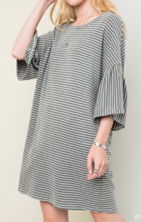 Sunday Supply Co. Bell Sleeve Dress
