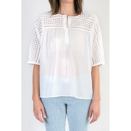 CLOSED Broderie Anglaise Blouse