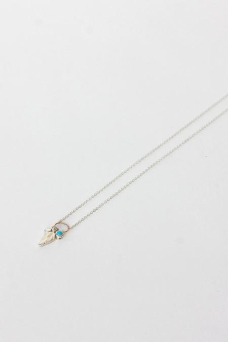 Scosha Feather Charm Necklace