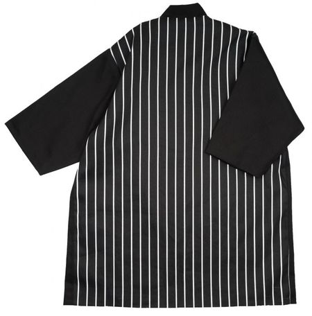 Kids Meme ACE Longline Jacket - Black/Stripes