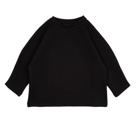 Kids Meme LEVI L/S Kimono Shirt - Black
