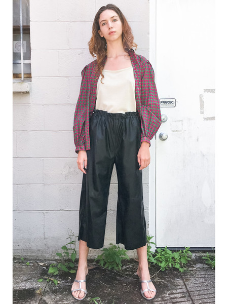 Maison Margiela MM6 Faux Leather Trouser