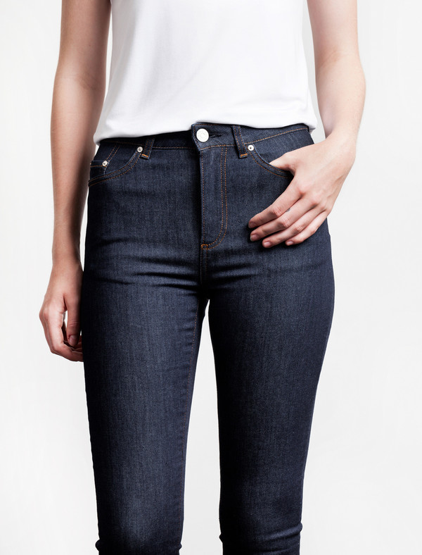 Acne Studios Pin Raw Jeans