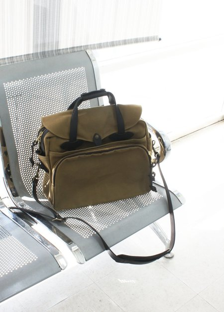 Filson Padded Computer Bag in Tan