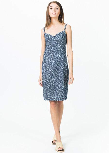 Ticci Tonetto Fitted Liberty Dress