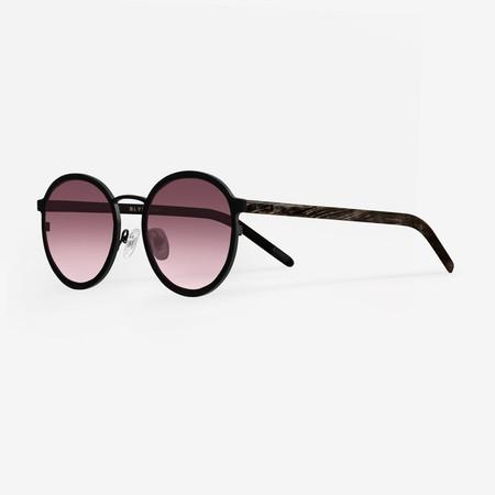BLYSZAK Eyewear Collection IV Metal/Horn Round Frames