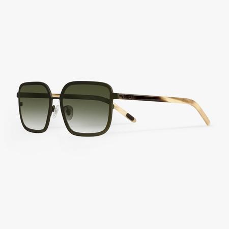 BLYSZAK Eyewear Collection V Metal/Horn Square Frames