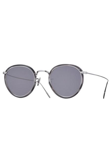 Eyevan7285 Metal 717 Sunglasses - Dark Grey