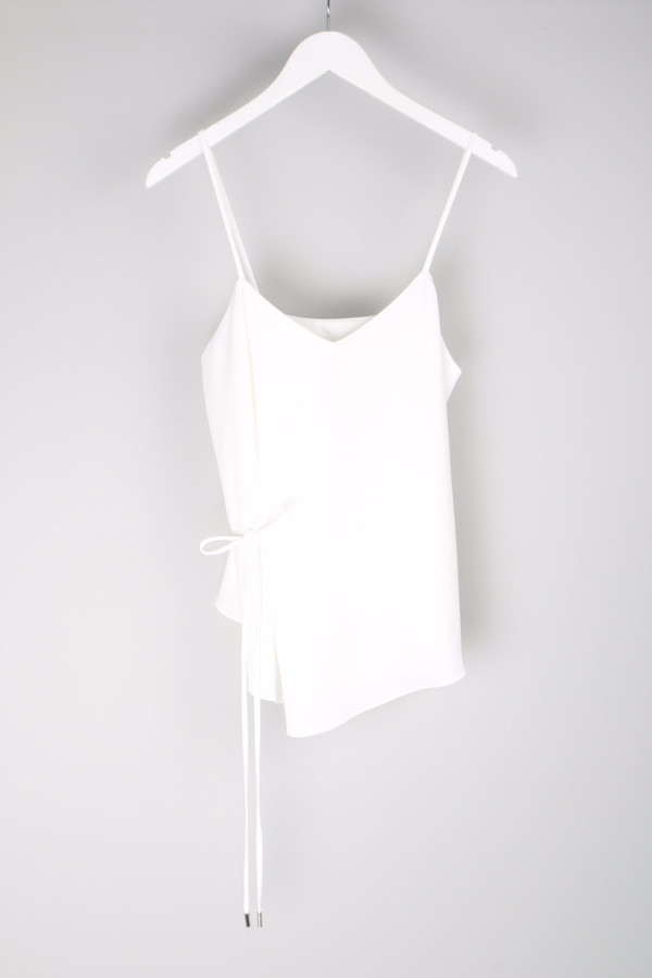 10 Crosby by Derek Lam Tie Detail Cami