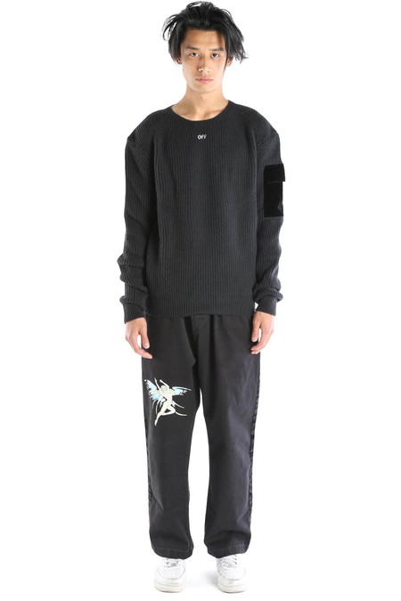 Off-White Military Jumper