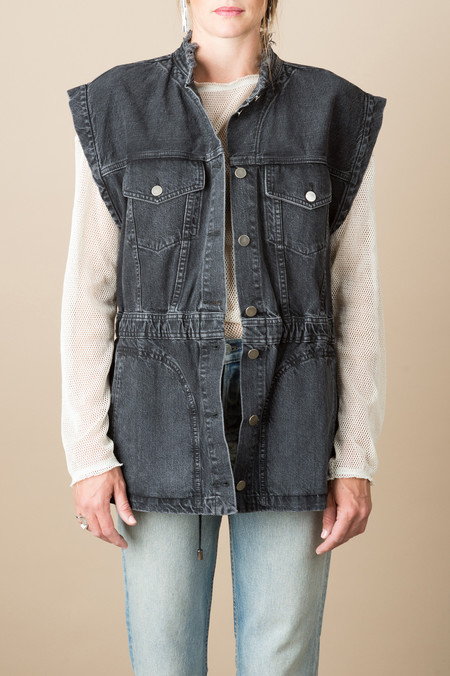 Rachel Comey Mettle Jacket In Washed Black