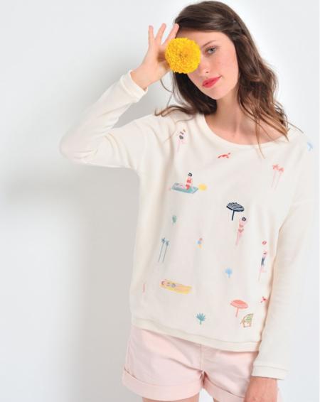 Des Petits Hauts Beach Sweater