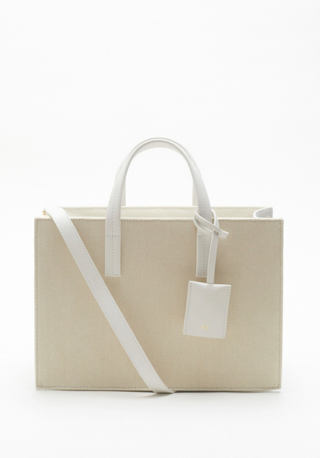 Vasic White Convey Bag