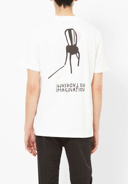 L'Homme Rouge Imagination  Tee - White