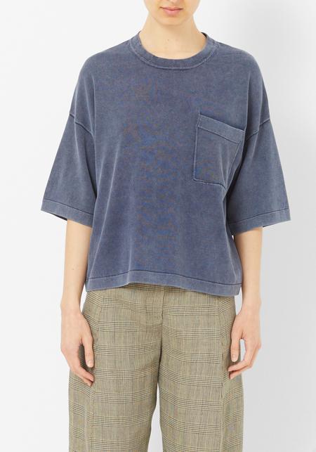 Demy Lee Billie Indigo Wash Boxy Sweater