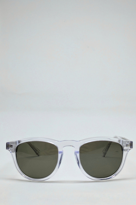 Shwood Francis Sunglasses // Crystal/Elm