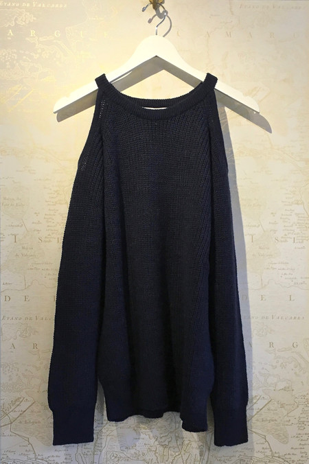 IRO 'Lineisy' Cold Shoulder Sweater