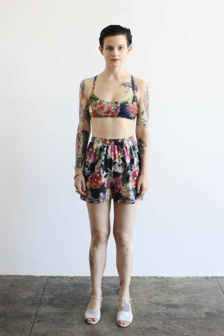 Strathcona silk shorts