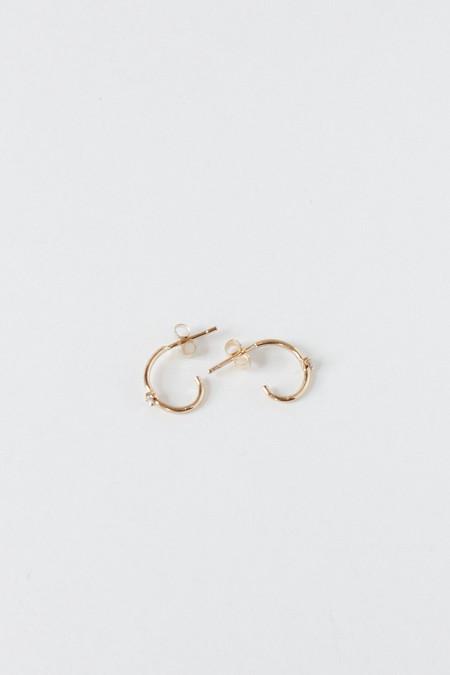 Hortense Sparkling Hoop earrings
