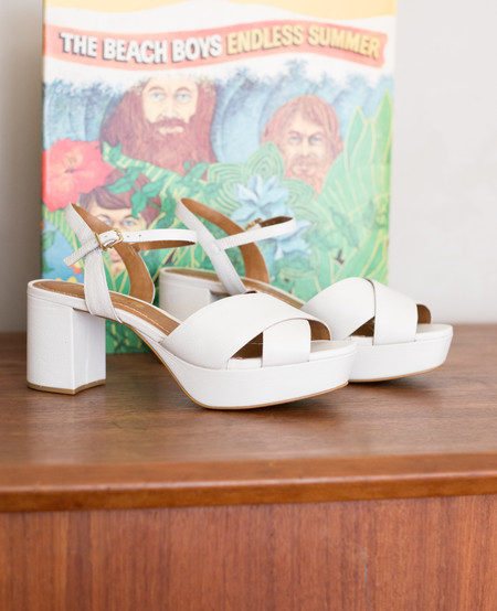 L'Intervalle Whitney Sandals - White