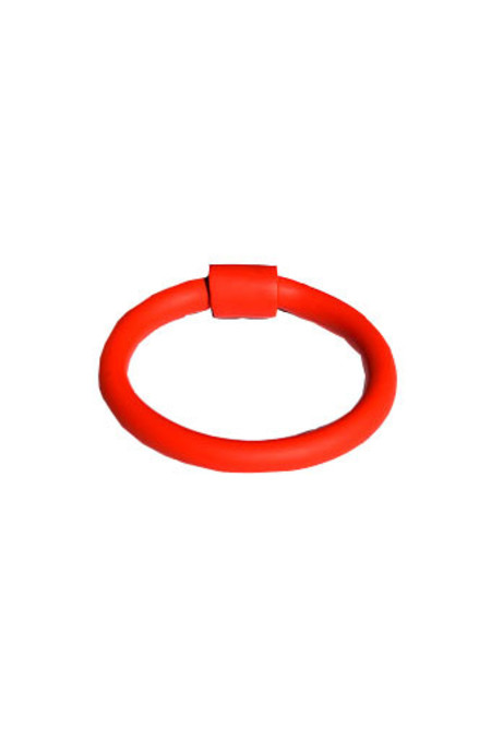 Surface Handmade Cylinder Bracelet - Red