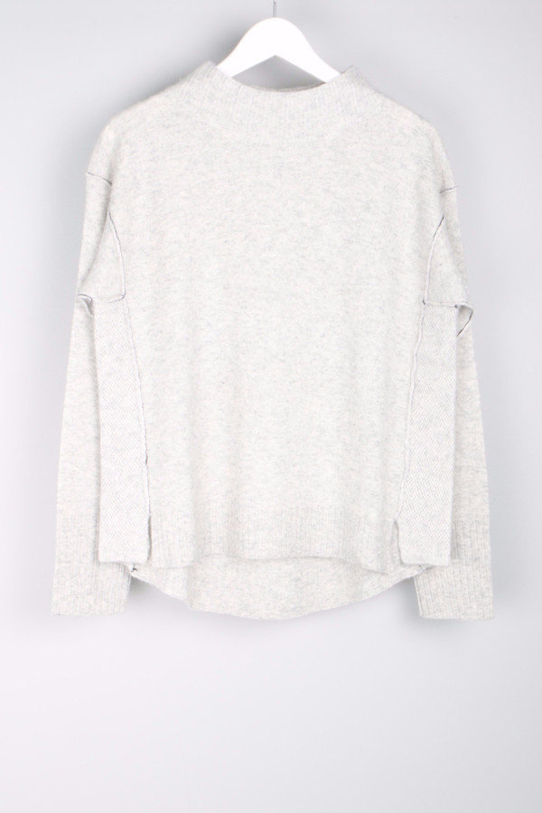 Paychi Guh Mock Neck Pullover
